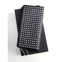 PATRICK STEPHAN   パトリックステファン // Leather long wallet 'all-studs' - SILVER STUDS #106AWA06  レザーウォレット...