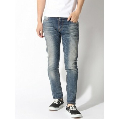 【SALE/50%OFF】nudie jeans nudie jeans/(M)Tight Terry ヌーディージーンズ / フランクリンアンドマーシャル パンツ/ジーンズ フルレングス ブルー...
