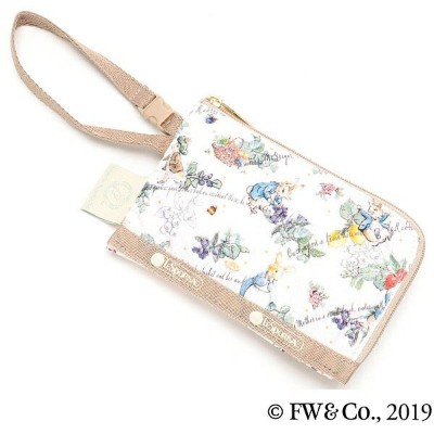 CURVED COIN POUCH/ピーターズ フルーツガーデン/レスポートサック(LeSportsac)