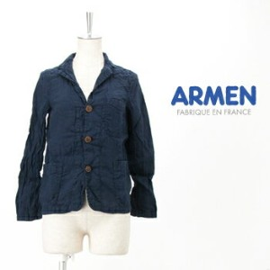 【SS】アーメン レディース LINEN WORK JACKET[NAM1452LP]