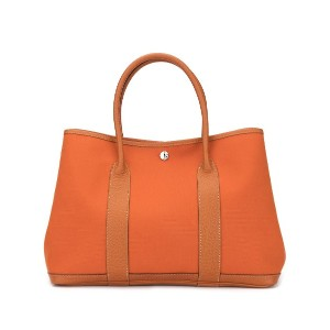 Hermès Pre-Owned Garden Party ハンドバッグ - オレンジ