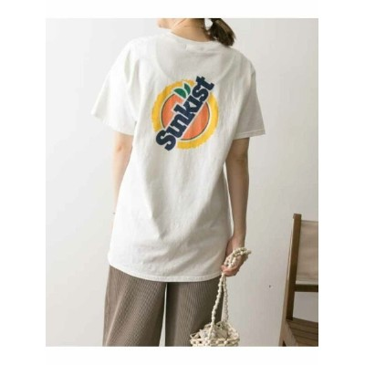 【SALE/30%OFF】URBAN RESEARCH SunkistT-SHIRTS アーバンリサーチ カットソー Tシャツ オレンジ イエロー