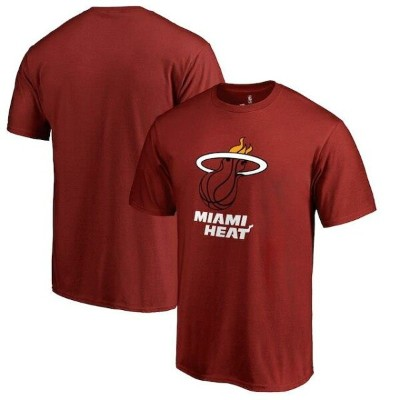 Miami Heat Red Primary Logo T-Shirt メンズ