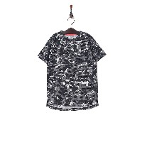 UNDER ARMOUR UA TECH YOUTH SS CAMO○1313616 Blk/sil キッズ・ベビーファッション