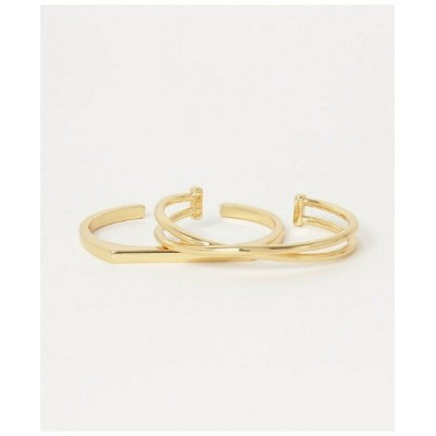 【SALE/40%OFF】Nothing And Others NothingAndOthers/Bangle Set ナッシングアンドアザーズ アクセサリー ブレスレット ゴールド シルバー...