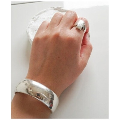 【SALE/40%OFF】Nothing And Others NothingAndOthers/Round Bangle ナッシングアンドアザーズ アクセサリー ブレスレット シルバー【送料無料】