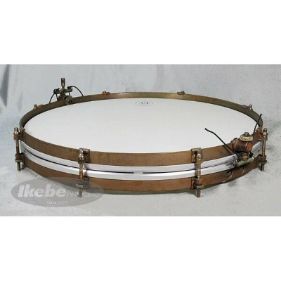 "A&F Drum Co ""Pancake"" 16"" x 1.5"" Raw Brass Snare Drums [Single Tension,No Lugs, with Brass Single..."