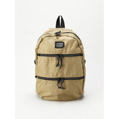 FREDRIK PACKERS FREDRIK PACKERS/210D DOUBLE ZIP ノーティアム バッグ リュック/バックパック カーキ【送料無料】