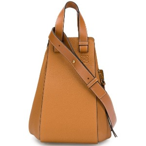 Loewe medium Hammock tote - 3649 Light Caramel