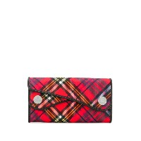 Vivienne Westwood Anglomania チェック 長財布 - レッド