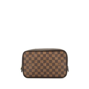 Louis Vuitton Pre-Owned トゥルーストワレット23 ポーチ - ブラウン