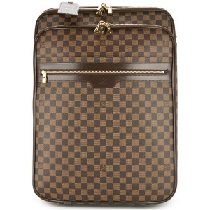 Louis Vuitton Pre-Owned ぺガス55 ダミエ キャリーバッグ - ブラウン