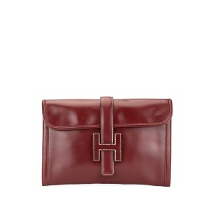 Hermès Pre-Owned ジジェ PM H ロゴ クラッチバッグ - レッド