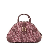 Christian Dior Pre-Owned トロッター ハンドバッグ - レッド