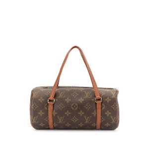 Louis Vuitton Pre-Owned パピヨン モノグラム バッグ - ブラウン