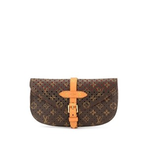 Louis Vuitton Pre-Owned Saumur クラッチバッグ - ブラウン
