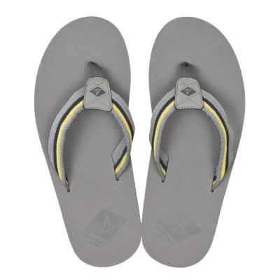 【SPERRY TOPSIDER】 スペリートップサイダー TOPSAIL THONG トップセイル トング STS19150 GREY/YELLOW