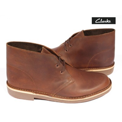 クラークス Clarks ブーツ Bushacre 2 Dark Brown