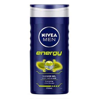 Nivea Body Care Shower Gel For Men Energy 86289 250ml