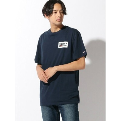 (M)TOMMY HILFIGER(トミーヒルフィガー) リピートロゴTシャツ トミーヒルフィガー カットソー【送料無料】