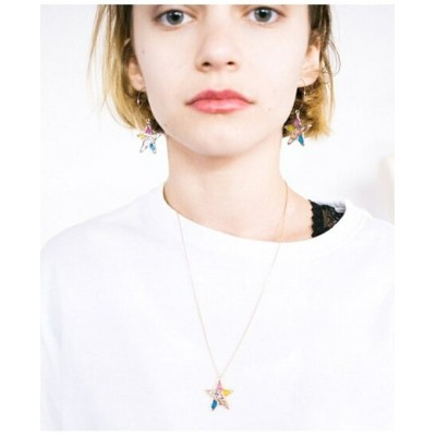 rehacer Stained glass Star Necklace レアセル アクセサリー ネックレス ゴールド シルバー