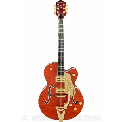 Gretsch G6120TFM Players Edition Nashville (Orange Stain)《エレキギター》【送料無料】【ONLINE STORE】