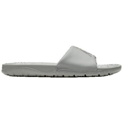 (取寄)ジョーダン メンズ ブレーク スライド Jordan Men's Break Slide Light Smoke Grey Metallic Silver
