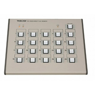 TASCAM タスカム RC-SS20 (SS-CDR200、SS-R200、HD-R1、HS-2、HS-8用コントローラー)【smtb-ms】【RCP】【zn】