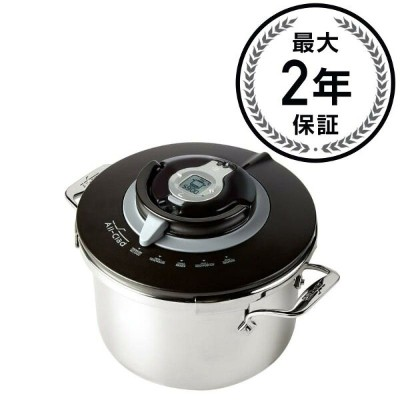 オールクラッド 圧力鍋 7.9L All-Clad Precision Stainless Steel Pressure Cooker, 8.4-Quart, Silver 家電