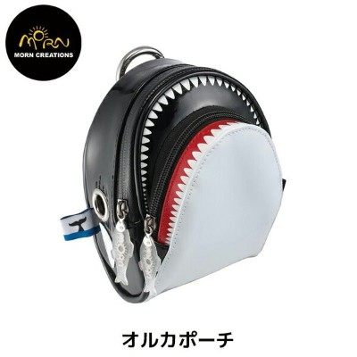 【MORN CREATIONS】The KillerWhale オルカ ポーチ