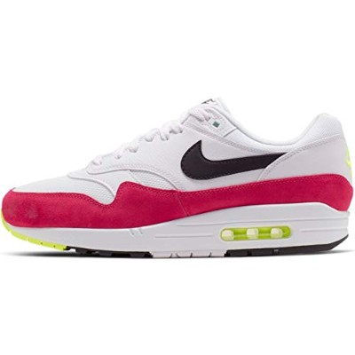 Nike Air Max 1 [AH8145-111] Men Casual Shoes White/Black-Volt-Rush Pink/US 11.0