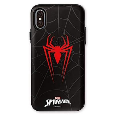 マーベル Marvel カード収納 iphone ケース spider man case iron man case iphonexr iphone xr iphone 10r iphone10r...