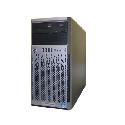 HP ProLiant ML310e Gen8 675241-B21 Xeon E3-1220 V2 3.1GHz 8GB 450GB×2 (SAS 3.5インチ) DVD-ROM Smartアレイ...