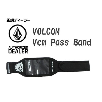 VOLCOM/ボルコムvolcom ボルコム パスケース 【Vcm Pass Band 】JapanLimited J67519JH