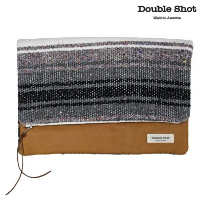 Double Shot ダブルショット クラッチバッグ LEATHERS LARGE HOLD CLUTCH ds0038-cl-mrbr