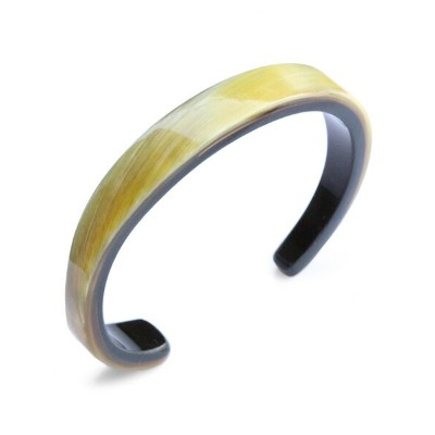 ON THE SUNNY SIDE OF THE STREET(オン ザ サニー サイド オブ ザ ストリート)【11mm Buffalo Horn Twisted Bangle (D.Brown...