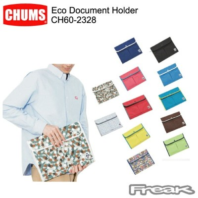 CHUMS チャムス バッグ CH60-2328 Eco Document Holder エコドキュメントホルダー ※取り寄せ品