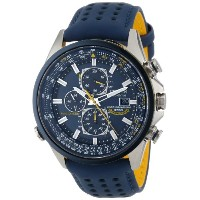 """Citizen シチズン メンズ腕時計 Men's AT8020-03L """"Blue Angels World A-T"""" Eco-Drive Watch"""