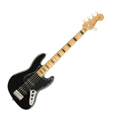 Squier Classic Vibe '70s Jazz Bass V BLK MN 5弦 エレキベース