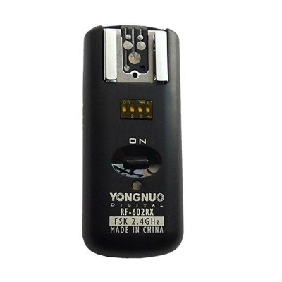 Yongnuo RF-602 N 2.4GHz 100M Wireless Remote フラッシュ Transmitter + 3 レシーバ for Nikon D7200 D7100 D7000...