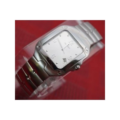 【送料無料】auth swiss movado se classic square case,stainless steel mens model,retail1095