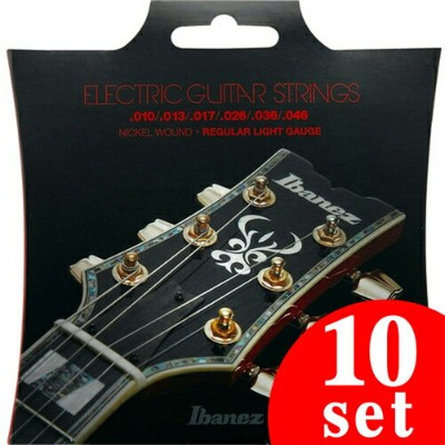 Ibanez Accessory Series IEGS61 6st/Regular Light (Nickel Wound / 10-46) 《エレキギター弦》【10セット】【送料無料】