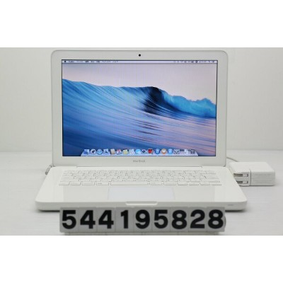 Apple MacBook A1342 Mid 2010 MC516J/A Core2Duo P8600 2.4GHz/2GB/250GB/Multi/13.3W/WXGA(1280x800)【中古...