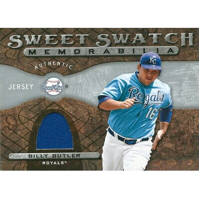 ビリー・バトラー MLBカード Billy Butler 2009 Sweet Spot Swatches
