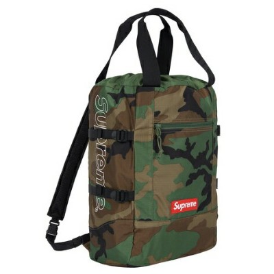 【From NYC】2019SS 19SS Supreme Tote Back pack Woodland Camo シュプリーム トート バックパック ボックス デイパック BOX