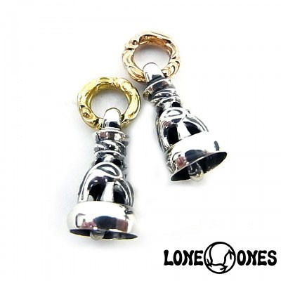 【LONE ONES】ロンワンズ【送料無料】【あす楽】/MF Pendant - Silver Dove Bell Medium with 18K Yellow Gold Cygnet Ring...