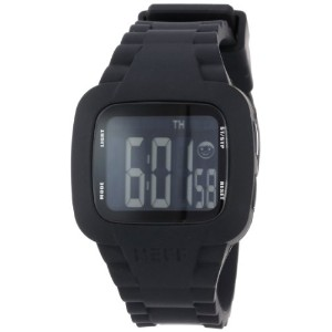 Neff ネフ メンズ腕時計 Men's NF0207-black Digital Double Injected Silicone Strap PC Case Watch
