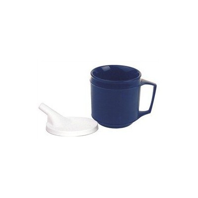 Kinsman Weighted Cup w/16037 Spout Lid...Blue 8 oz by Kinsman