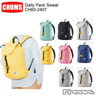 CHUMS チャムス バッグ パック CH60-2407 Daily Pack Sweat  デイリーパックスウェット ※取り寄せ品