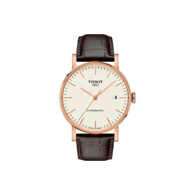 ティソ Tissot レディース 腕時計【Everytime Swissmatic - T1094073603100】Silver/Brown